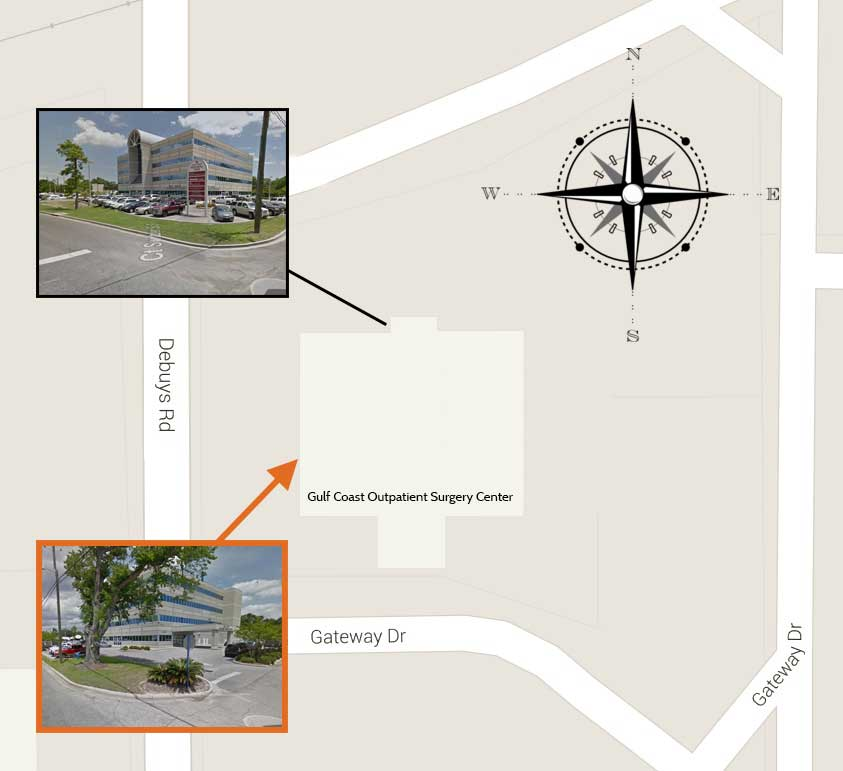 Directions to Gulf Coast Outpatient Surgery Center