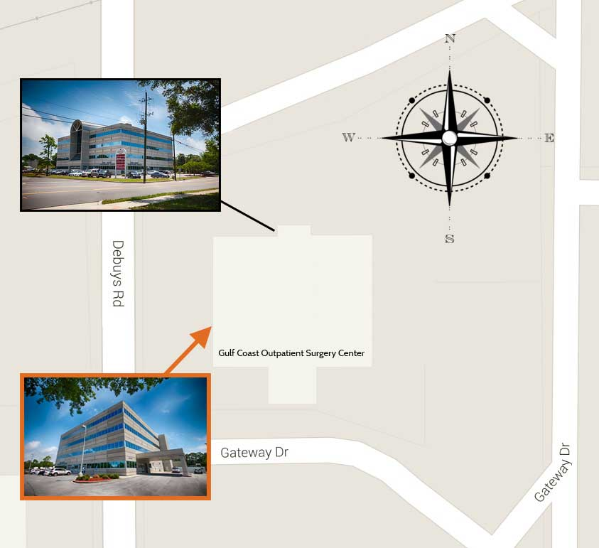 Gulf Coast Outpatient Surgery Center Location